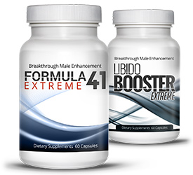 Formula 41 Extreme and Libido Booster Extreme Stack