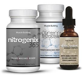 NitroGenix 365 with Xtreme Testosterone & Deer Antler Maximum Strength