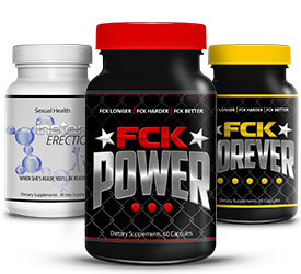 fck power fck forever and instant erection stack mens