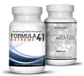 Formula 41 Extreme and Marathon Man Maca 1000
