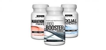 3 All-Natural Male Enhancement Products that WORK! - Marathon maca 1000, Libido Booster Extreme, Sexual Overdrive