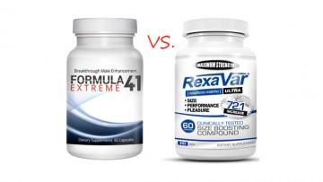 Rexavar versus Formula 41 Extreme Supplement Comparison