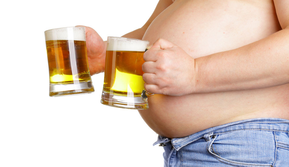 Battling the beer belly