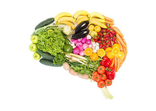 fruits and vegetables for the brain