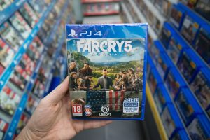 Far Cry 5 video game on PS4