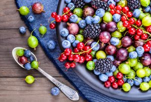 antioxidant rich berries