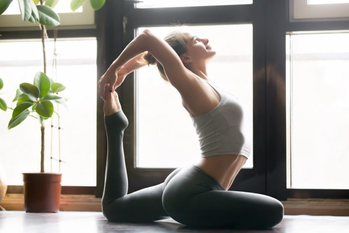 yoga pose, arched back, better sex