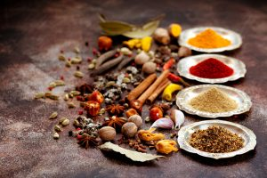 antioxidant rich herbs and spices