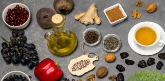 antioxidant rich food, herbs, spices