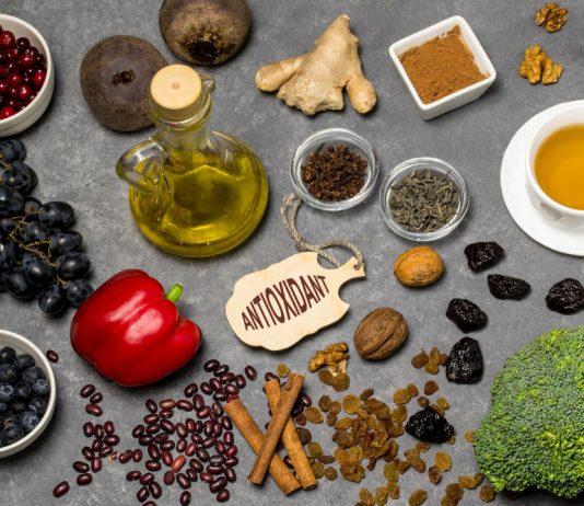 antioxidant rich food, herbs, spices
