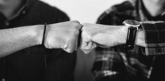 bro code fist bump male friends