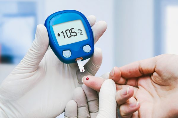 diabetic blood sugar level test