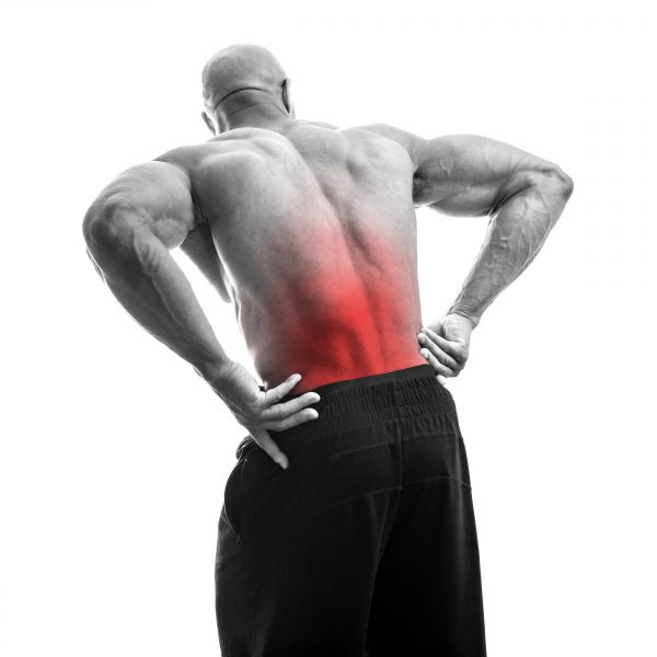lower back pain hot spot
