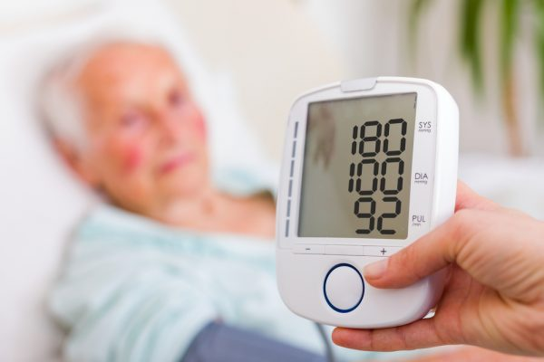 high blood pressure in old people