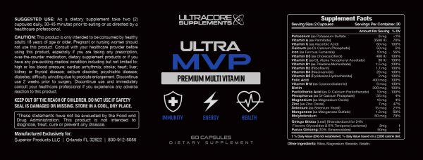 Ultra MVP Review: Is This Multivitamin Supplement from UltraCore Supplements Worth It?